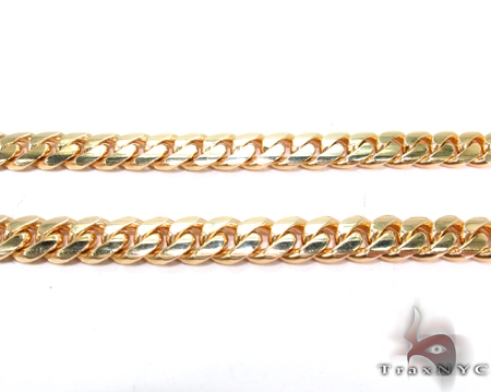 Custom Yellow Gold Miami Cuban Link