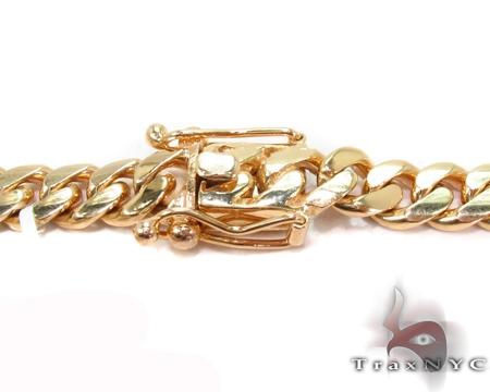 Custom Yellow Gold Miami Cuban Link