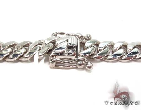Custom White Gold Miami Cuban Link