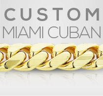 Custom Yellow Gold Miami Cuban Link Gold