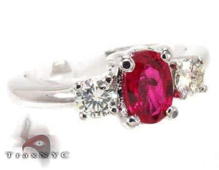 Ruby & Diamond Ring 12848 Anniversary/Fashion