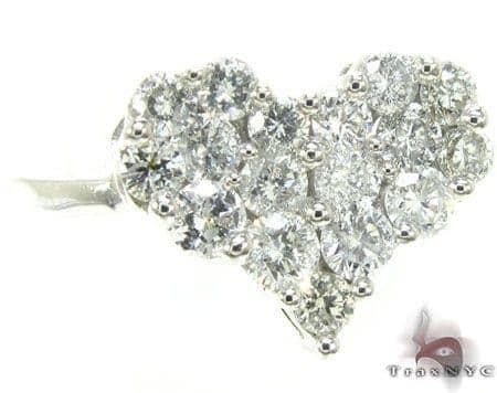 Diamond Galore Heart Ring Anniversary/Fashion