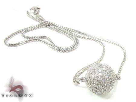 Ice Ball Necklace 2 Diamond