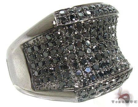 Black Night Ring Stone