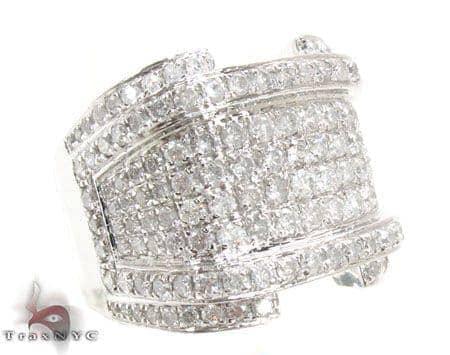 White Gold XL RSVP Ring Stone
