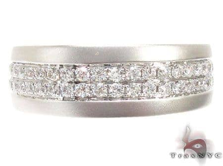 Diamond Wedding Band Stone