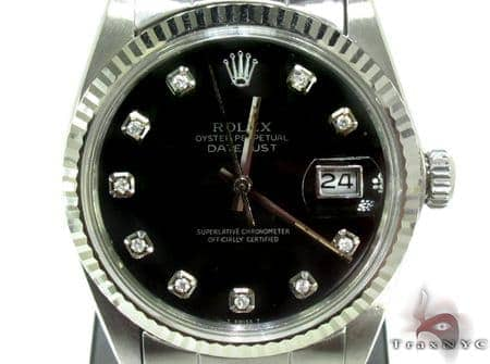 Rolex Datejust Steel & White Gold Watch 178274