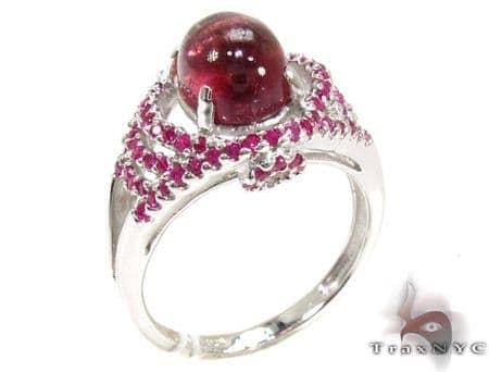 Ladies Silver Gemstone Ring 19964 Anniversary/Fashion