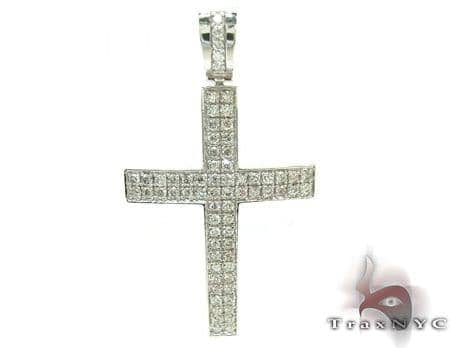 Mens Diamond Cross 21229 Diamond