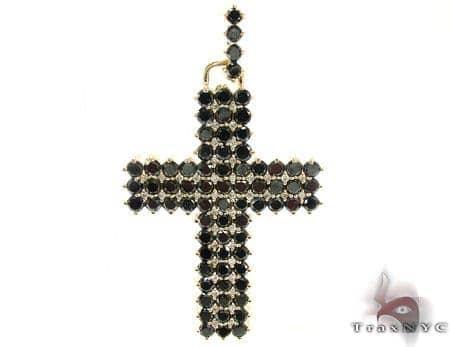 Mens Black Diamond Cross 21881 Mens Diamond Cross
