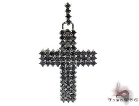 Mens Black Diamond Cross 21882 Diamond