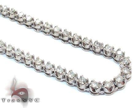 Polar Ice Chain 36 Inches 4mm 57.1 Grams Diamond