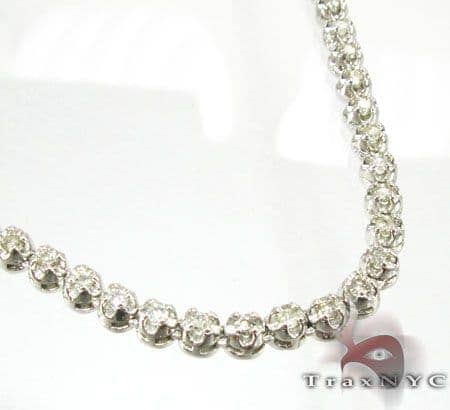 Ultra Round Cut Chain 33 Inches, 4.5mm, 48 Grams Diamond