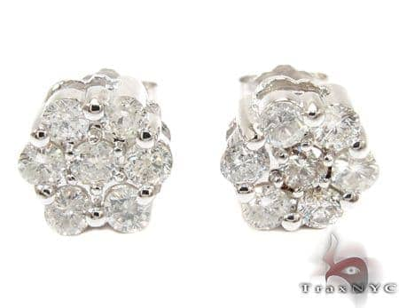 Diamond Stud Earrings Stone