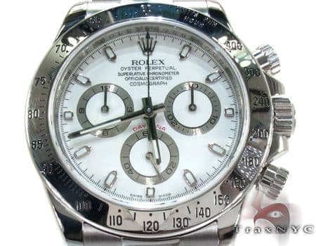 Rolex Daytona Steel Watch 116520