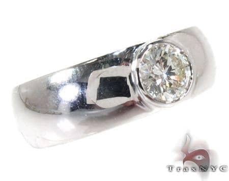 Bezel Diamond Wedding Ring Style