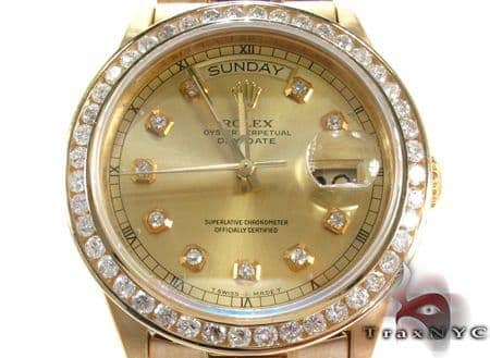 Rolex President  Day-Date Yellow Gold