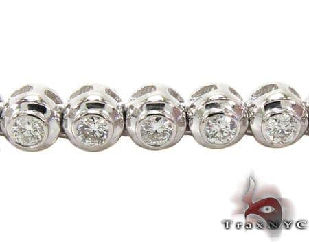 Diamond Bezel Chain 24 Inches 4mm 51.89 Grams Diamond