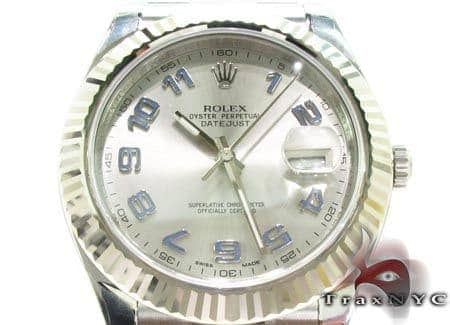 Rolex Datejust II White Gold & Steel 116334