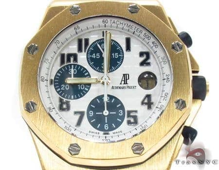 Audemars Piguet Royal Oak Offshore 18K Yellow Gold Watch Audemars Piguet Watches