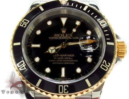 Rolex Submariner Yellow Gold and Steel 16613