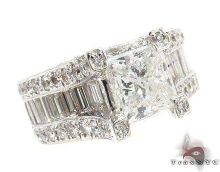 Princess Cut Diamond Wedding Ring Engagement