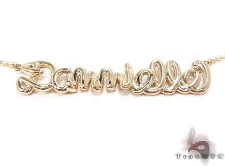 14K Gold Dannielle Custom Necklace Gold