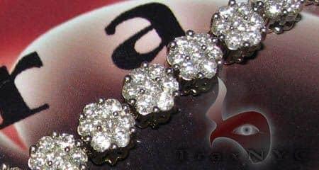 Flower Bracelet Diamond