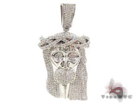 Jesus Diamond Pendant 33725 Style