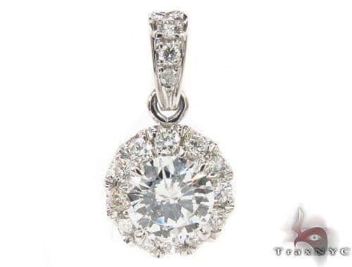 Prong Diamond Necklace 34143 Diamond