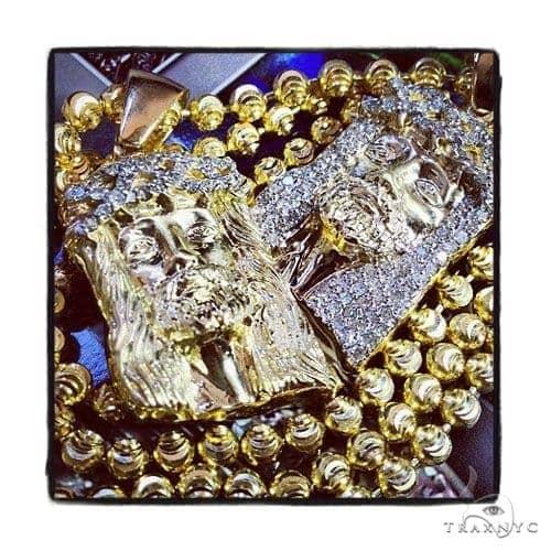 Diamond Jesus Head Pendant 36468 Style