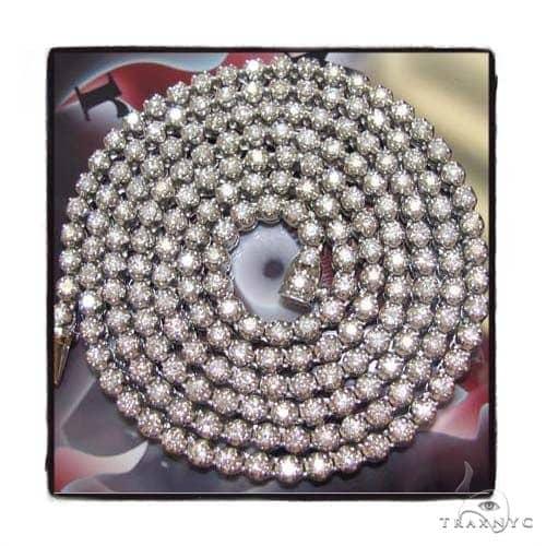 DX Diamond Chain 32 Inches 6mm 60 Grams Diamond