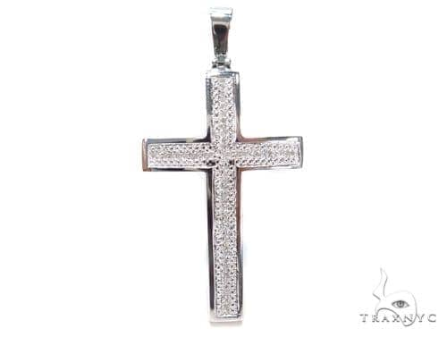 Prong Diamond Cross 40596 Diamond