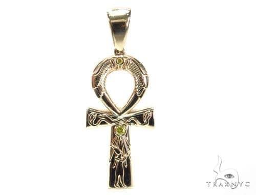 Egyptian Cross Ankh Pendant  41214 Diamond Pendants