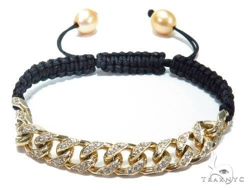 Miami Cuban Diamond Rope Bracelet 41216 Diamond