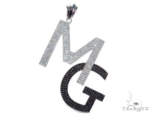 MG Diamond Pendant 41587 Metal