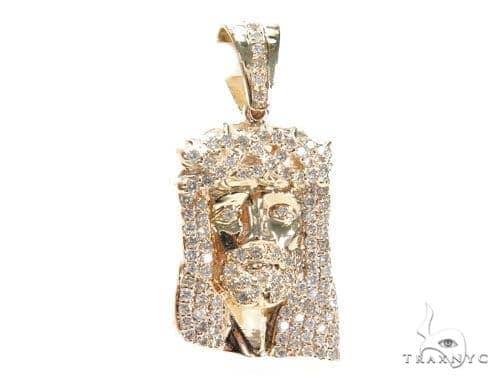 Prong Diamond Jesus Piece 41655 Style