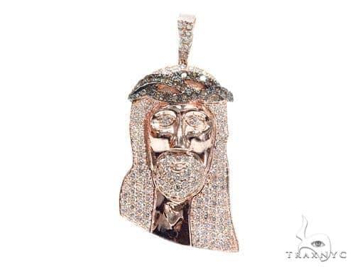 Prong Diamond Jesus Piece 41762 ダイヤモンド ジーザス ペンダント