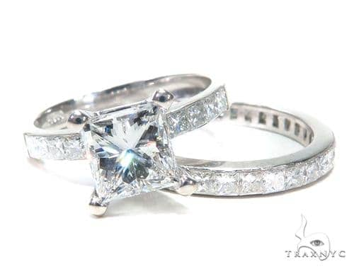 Invisible Diamond Engagement Ring Set 42016 Engagement