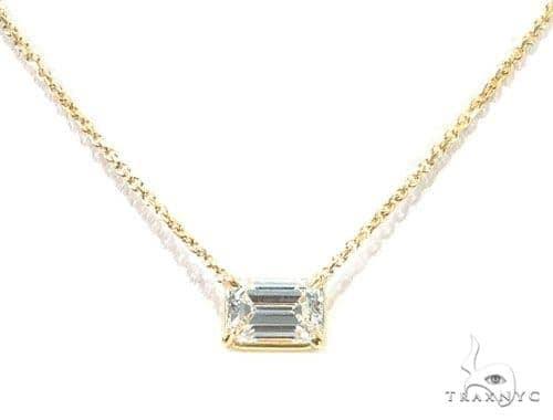 Prong Diamond Necklace 42635 Diamond