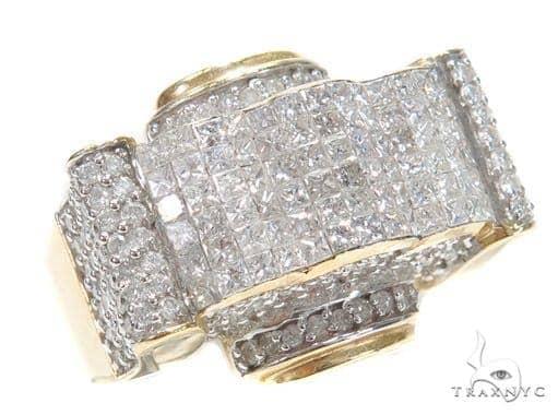 Invisible Diamond Ring 42957 Stone