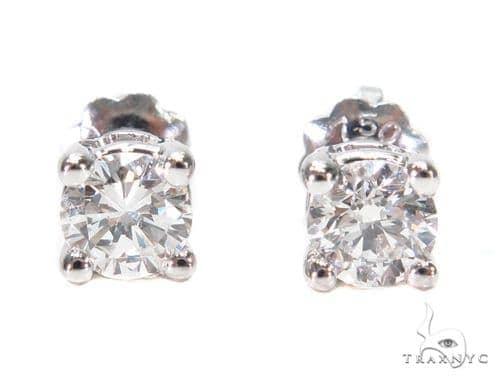 Prong Diamond Stud Earrings 43163 Style