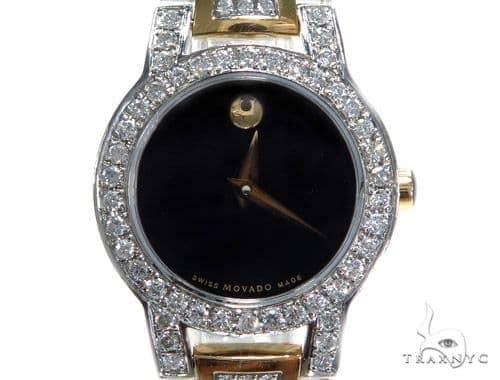 Prong Diamond Movado Amorosa Watch 44429 Movado