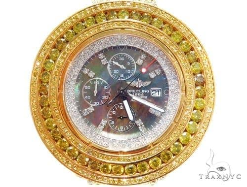 Breitling Custom Super Avenger Diamond Watch 45221 Breitling