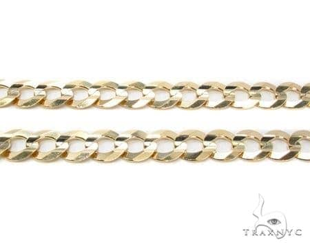 Mens 10k Solid Yellow Gold Cuban/curb Chain 30 Inches 9.3mm 58.20 Grams 47214 Gold
