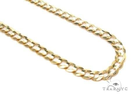 Mens 14k Solid Yellow Gold Cuban/curb Chain 26 Inches 4.7mm 15.88 Grams 47292 Gold
