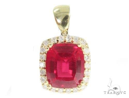 Lepus Diamond Pendant 49156 Metal