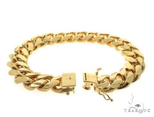 Miami Cuban Silver Bracelet 49185 Silver