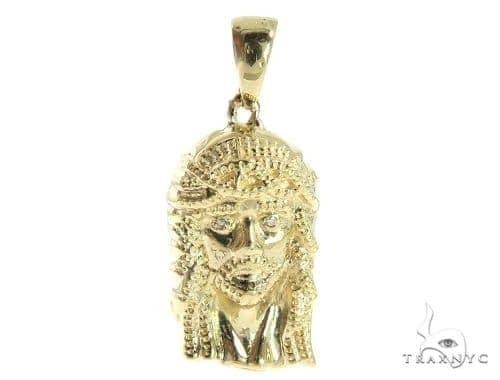 Jesus Diamond  Pendant 49418 Metal