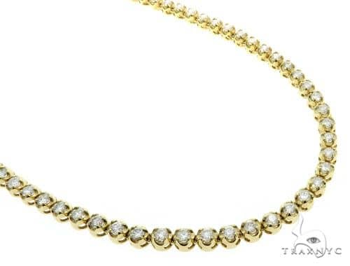 Custom Jewelry - Diamond Chain 26 Inches 6mm 52.8 Grams 61363 Diamond